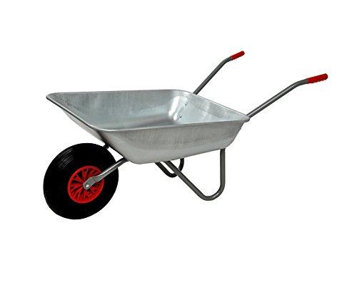 LIMEX 2x Gartenschubkarre Schubkarre 80l Liter org Starco-Rad kein China-Rad