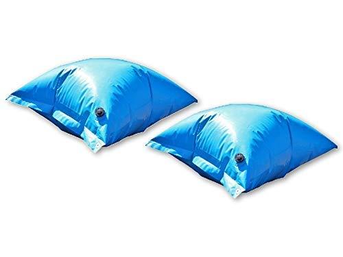 well2wellness 2 x Pool Luftkissen Winterkissen PE Deluxe mit Sicherheitsventil für Pool Abdeckplanen
