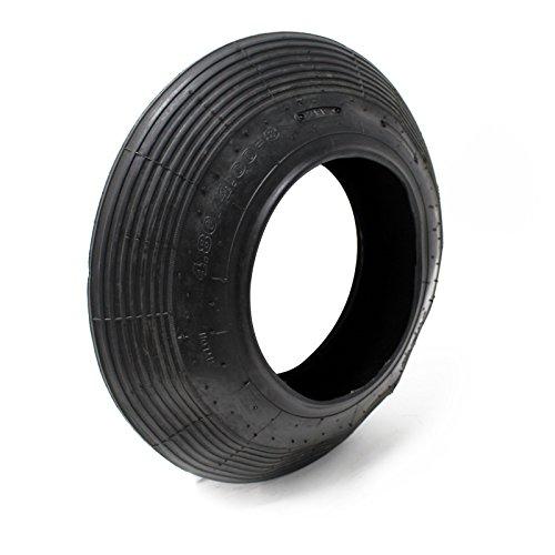 Schubkarrenreifen Schubkarre Reifenmantel Rad Reifen Mantel Luftrad 400x100 400-8