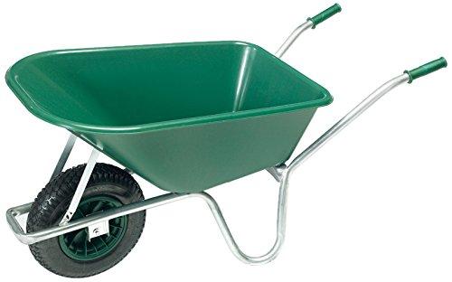 pro-bau-tec Gartenschubkarre 100 L mit PP Kunststoff Mulde 10089