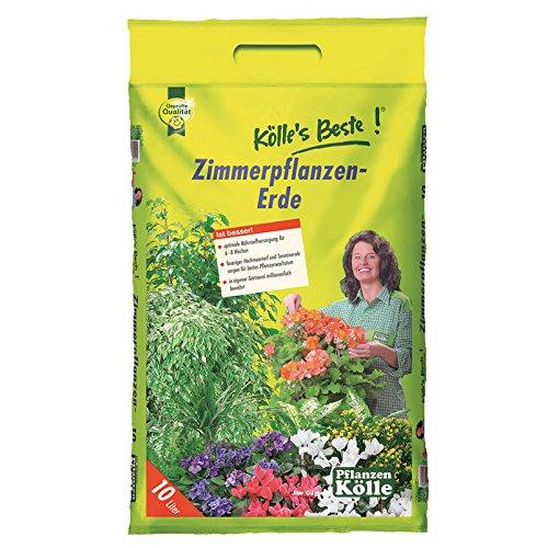 Kölles Beste Zimmerpflanzen-Erde 10 l mit Tragegriff