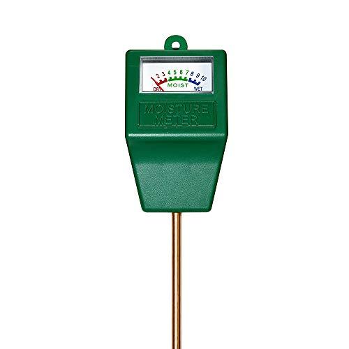 MoonCity Feuchtigkeitssensor für den Boden Messgerät für Pflanzenerde Garten Bauernhof Rasen drinnen und draußen kein Batterien erforderlich
