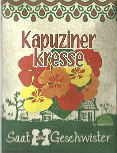 Die Stadtgärtner Kapuzinerkresse-Saatgut  Blume mit wunderschönen essbaren und leuchtend-bunten Blüten  Leicht keimende Samen