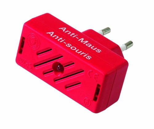 ISOTRONIC MäusevertreiberNagetier Vertreiber mit Ultraschall Abwehr gegen Mäuse und Ratten elektrisch Tiervertreiber ohne Mausefalle und Rattengift
