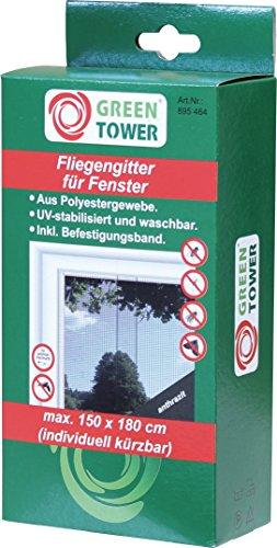 Fenster FliegengitterInsektennetzInsektenschutzanthrazitB x H 150 x 180 cm 1