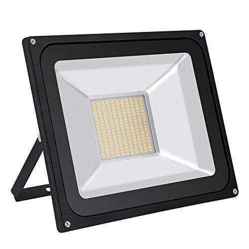 100W LED-Flutlicht wasserdicht IP65 80LM  W super helle Sicherheits-Lichter im Freien 80 energiesparend und umweltfreundlich 120 Grad 220V Flutlicht-Landschafts wandleuchtenWarmesWeiß 100W