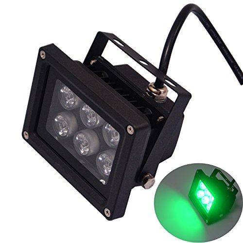 RSN LED 6W LED Fluter Scheinwerfer Grüne Farbe 30 Grad IP65 Beleuchtung Außenleuchten CE ROHS 220V 230V