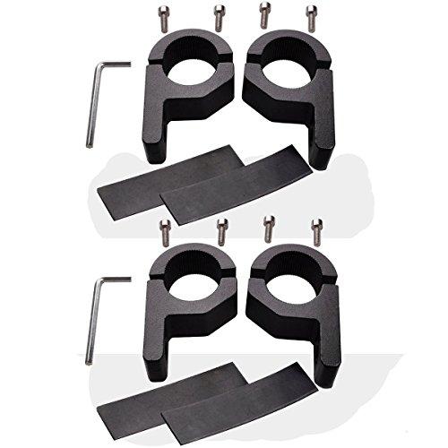 Lightronic 4stücke 1128mm 118 30mm den Rohren Überrollkäfig led arbeitsscheinwerfer bar Arbeitsleuchte Nebelscheinwerfer Halterung für SUV ATV Off-Road-Fahrzeuge und usw