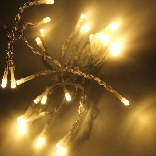 JnDee™ USB Lichterkette 20er LED 35M Warmweiß fairy lights Christmas mit USB-Anschluss