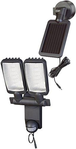 Brennenstuhl Solar LED-Leuchte Duo Premium SOL LV0805 P1 IP44 mit Infrarot-Bewegungsmelder 8xLED Anthrazit 1179390