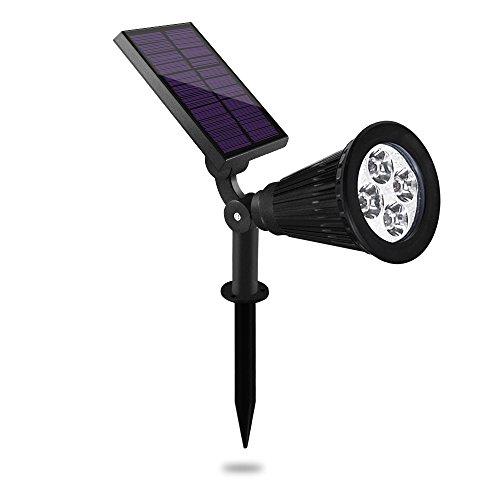 LEDs Solarleuchte GartenVaxiuja Solarbetriebene Outdoor Spotlight Gartenleuchte led gartenleuchten mit erdspieß gartenleuchten led gartenleuchten solar gartenleuchten kugel