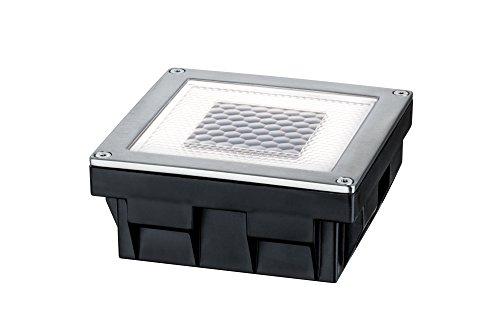 Paulmann 93774 Special Line Solar CubeBox LED IP67 Warmweiß 024W 93774 Solarleuchte Outdoor Bodenleuchte Außenleuchte Pflasterstein Gartenleuchte Terrassenleuchte