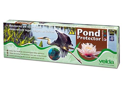 Velda 128020 Teichschutz Schwachstromzaun gegen Reiher und Katzen 11 Watt Pond Protector