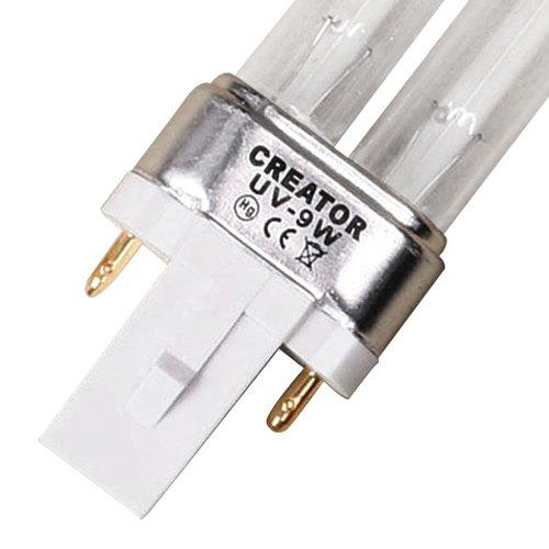 miahome UVC Ersatzröhre Ersatzlampe UV Leuchtmittel Ersatz Lampe UV-C Röhre für UVC Gerät 5W7W9W11W18W24W36W55W 9 Watt G23
