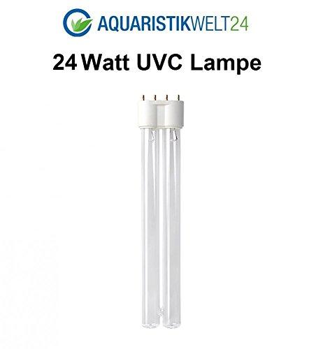 24 Watt UVC Ersatzlampe Wasserklärer 2G11 Sockel CUV 224 Klärer Leuchtmittel