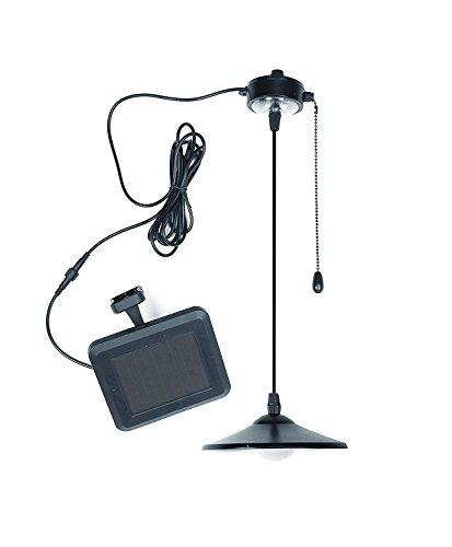Solar Hängeleuchte Pendeleuchte Pull Seil Kronleuchter Fernbedienung Kronleuchter LED Wasserdicht Solarleuchte Sicherheitslampe für Garten Terasse Wege Wande Pool Garage usw