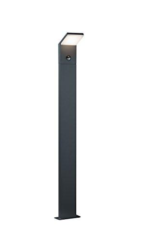 Trio Leuchten LED-Aussen-Wegeleuchte Pearl Aluminiumguss anthrazit 421169142