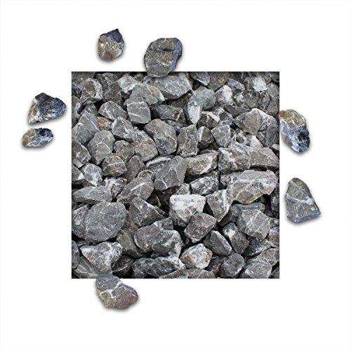 25 kg Marmorsplitt Carnico Edition Schwarz Körnung 2232 mm Zierkies Ziersplitt Deko Marmor Dekoration Splitt NEU