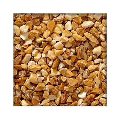 25 kg Marmorsplitt Marmorkies Gartenkies Zierkies Edelsplitt 2230 mm Siena Gelb