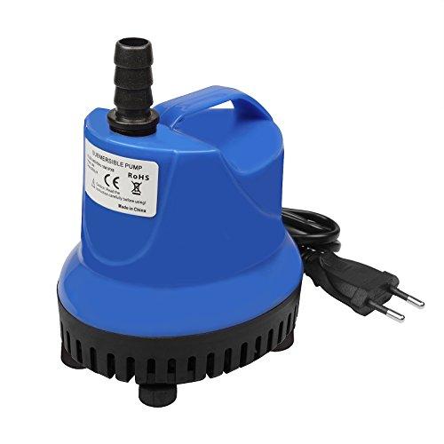 TSSS 18W 900LH Tauchpumpen Wasserspielpumpe Wasser Pumpen für Gartenentwässerung Aquarien Garten Brunnen Gartenteich Springbrunnen Water Pump