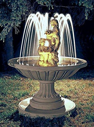 Springbrunnen POZZUOLI H 160 Farbe terracotta
