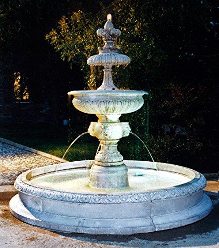 Springbrunnenanlage PERUGIA H 215 Farbe terracotta