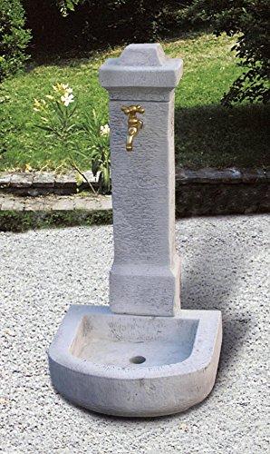pompidu-living Standbrunnen CADORE H 96 Farbe Terracotta