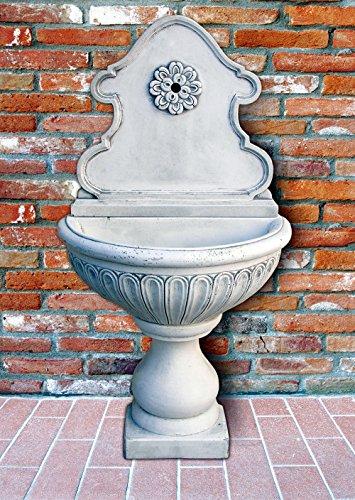 pompidu-living Standbrunnen Fiorenza H 146 Farbe Terracotta