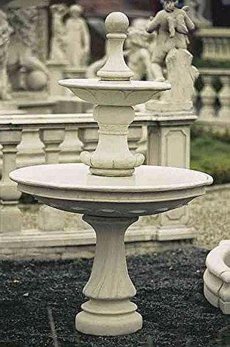 Brunnen Gartenbrunnen Zierbrunnen fountain Montreal Farbe sandstein