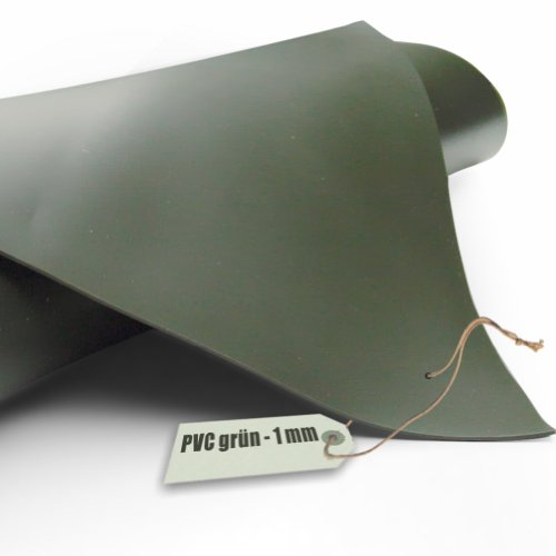 Teichfolie PVC 1mm oliv grün in 6m x 3m