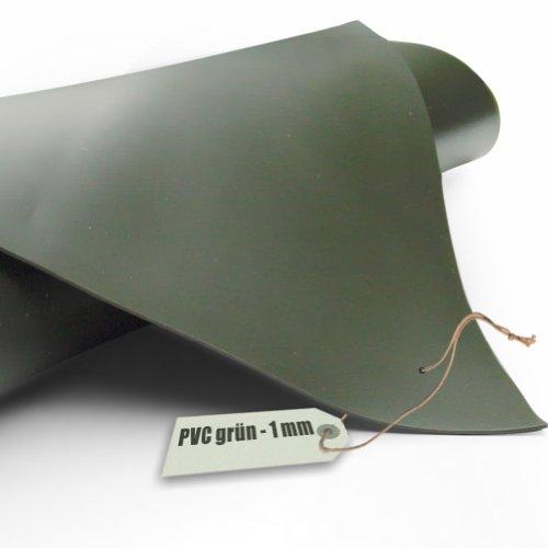 Teichfolie PVC 1mm oliv grün in 8m x 6m