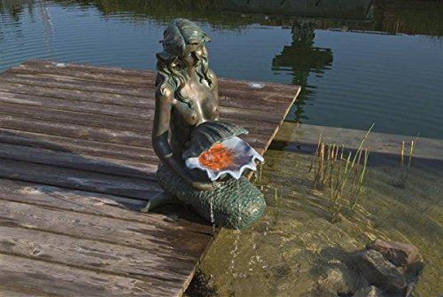 Gartenbrunnen  Wasserspiel ubbink AcquaArte Oslo Bronzeoptik