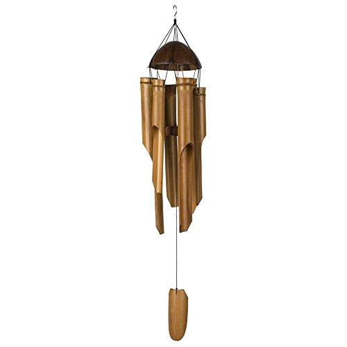indochine-interiorsde Bambus-Windspiel-Klangspiel–Türglocke hängend verschieden Grössen 30-50 cm 40 cm