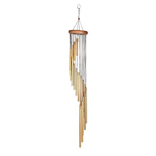 Klang- Und Windspiel Hängende Holz Tuning Rohr Große Wind Glocke Dekoration Anhänger