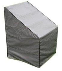 SORARA SchutzhülleCover Stuhl  Grau  75 x 78 x 65110 cm L x L x B x HH  Wasserabweisend Polyester PU Coating UV 50  Premium  AbdeckhaubeWetterschutz  Regenfest  Garten