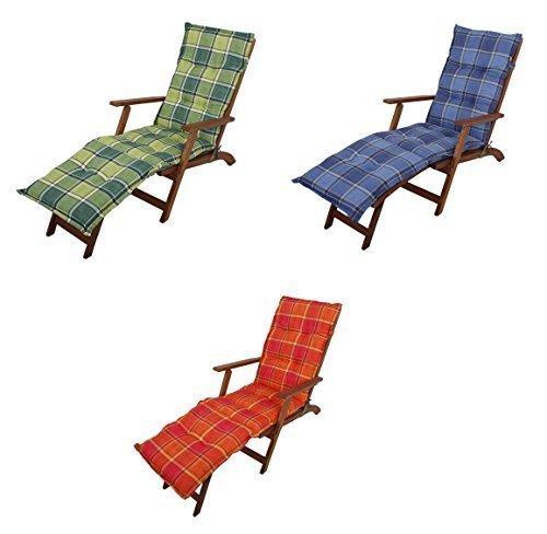 Benelando Auflage für LiegestühleDeckchairs in drei Farbvarianten Orange