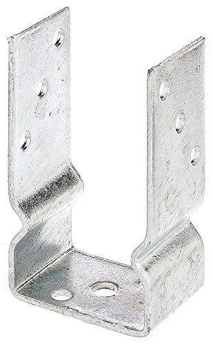U-Pfostenträger zum Aufschrauben für Pfosten 9x9 cm