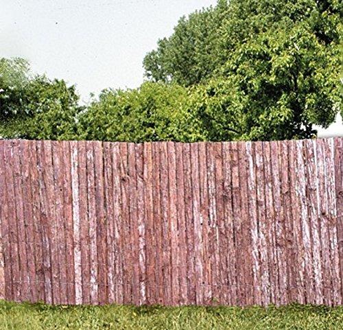 Sichtschutzmatte aus Rinde in zwei Größen 1x3 m