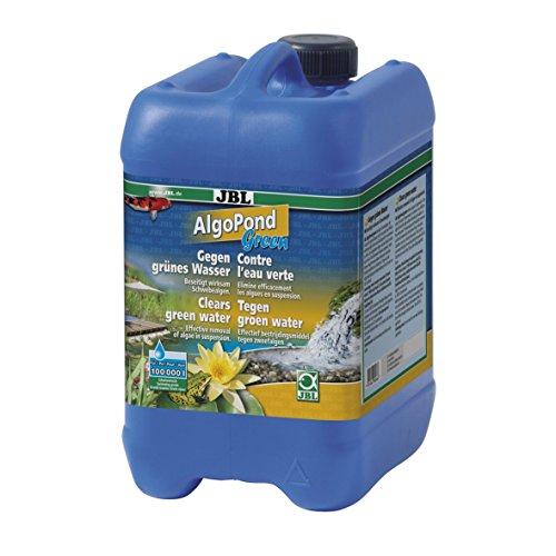 JBL AlgoPond Green 26067 Wasseraufbereiter zur Bekämpfung von Schwebealgen im Gartenteich 5 l