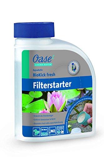 OASE Wasseraufbereiter AquaActiv BioKick fresh 500 ml silber