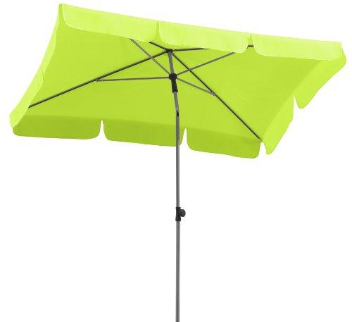 Schneider Sonnenschirm Locarno apfelgrün 180x120 cm rechteckig Gestell Stahl Bespannung Polyester 23 kg