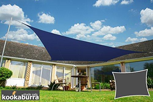 Kookaburra Wasserfest Sonnensegel 40m x 30m Rechteck Blau