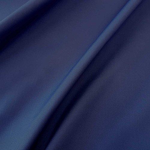 Stoff-Kollektion Stoff Meterware Markisenstoff blau marine dunkelblau UV beständig Sichtschutz Sonnensegel