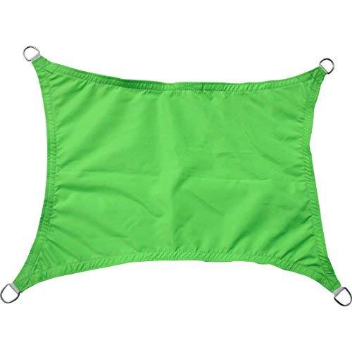 Greenbay Hellgrün Sonnensegel Sonnenschutz Segel für Balkon Terrasse Camping Garten  UV-Schutz PES Polyester  Rechteck 5x4m