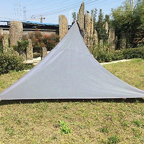 Oshide Dreieck Sun Shade Segel Garten Terrasse Party Sonnencreme Markise Baldachin Sonnenschutz Pool Schatten Segel Markise Outdoor Camping Picknick Zelt