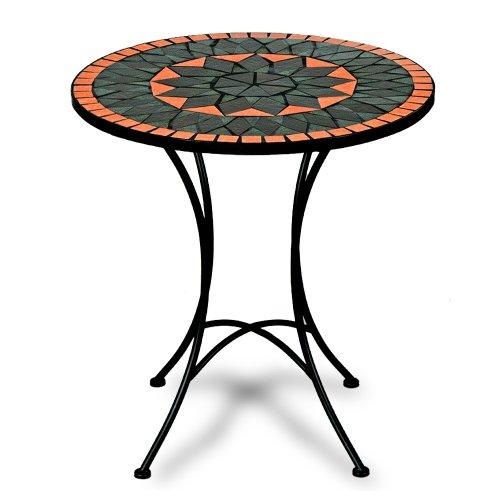 Deuba Mosaiktisch Terracotta Bistrotisch Mosaik Bistro Beistelltisch Gartentisch