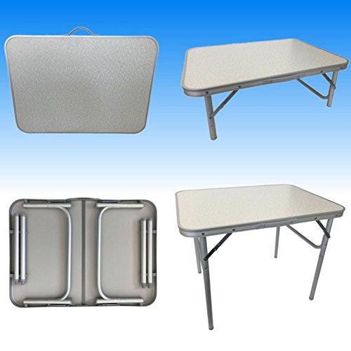 Megaprom Universal Alu Gartentisch Campingtisch Balkontisch Beistelltisch Klapptisch Koffertisch Klappba
