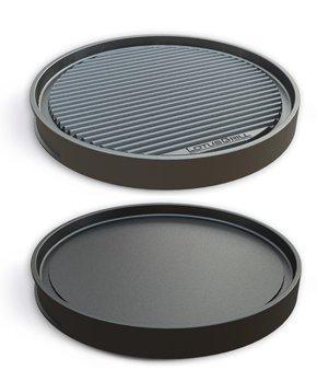 LotusGrill Grill-Teppanyakiplatte - Speziell entwickelt für den raucharmen HolzkohlegrillTischgrill