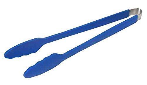 LotusGrill Grillzange Blau Speziell entwickelt für den raucharmen HolzkohlegrillTischgrill