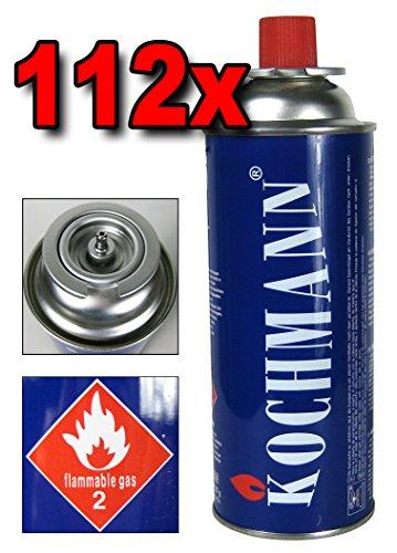 112 x Gaskartuschen MSF- 1A für Gaskocher Campingkocher 227g Gaskartusche